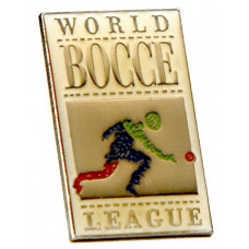 Official World Bocce League Pin