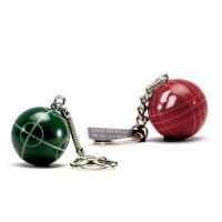 Bocce Ball Key Chain