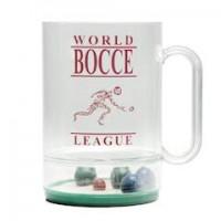 Official World Bocce League Drinking Mug