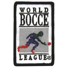 Official World Bocce League Embrooidered Patch