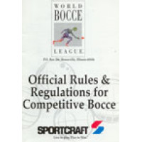 Official World Bocce Rule Book